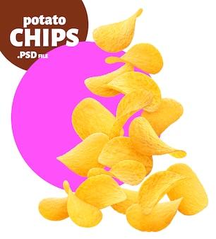 Baner chipsy ziemniaczane