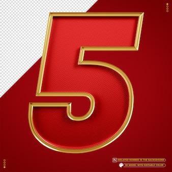 Baner numer 5