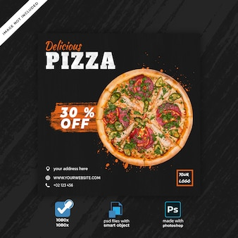 Baner restauracji pizzy