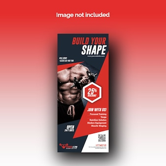 Baner rollup fitness
