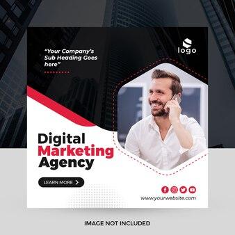 Baner społecznościowy creative business media