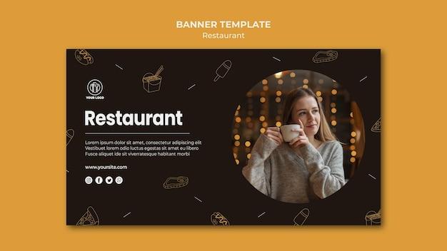 Baner szablonu restauracji