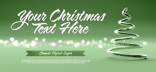 Banner sceny bożonarodzeniowej