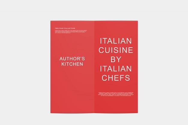 Bi-fold broszura makieta