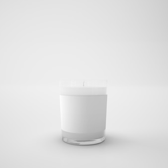 Biała świeca
