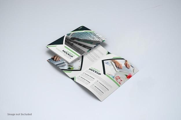 Bifold broszura makieta