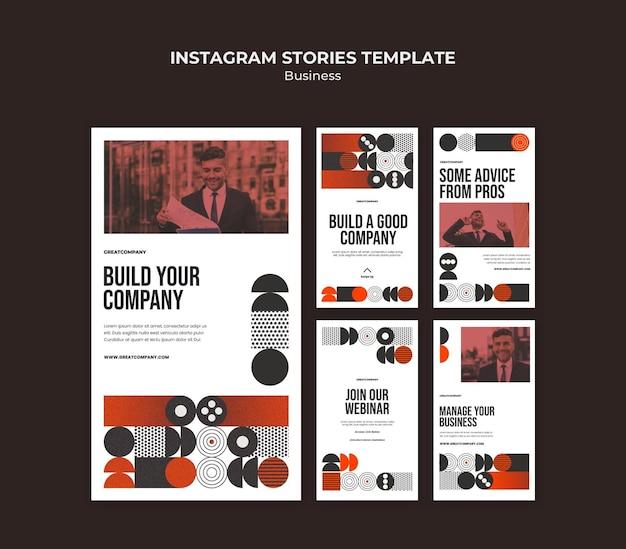 Biznesowe historie z instagramów