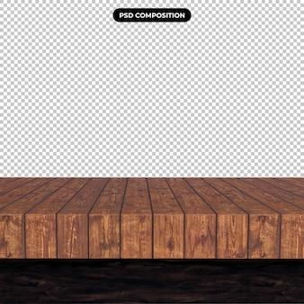 Blat z drewna na przezroczystym tle