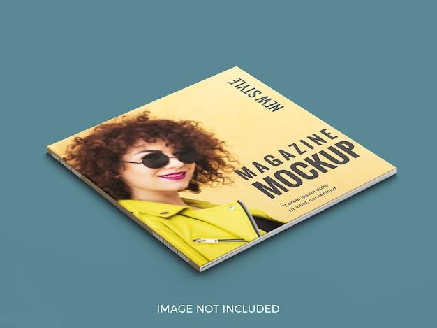 Bliska makieta magazynu kwadratowego