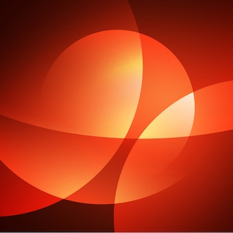 Błyszczące pomarańczowym tle projektu