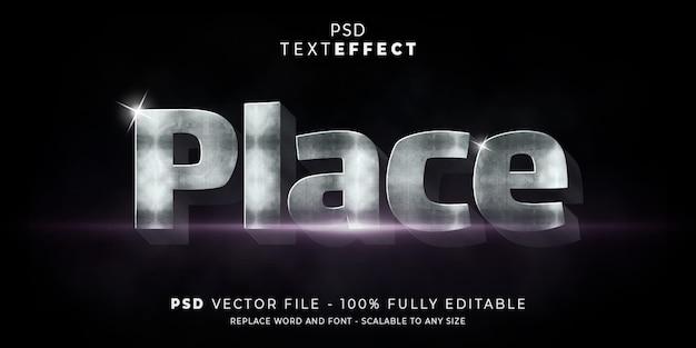 Błyszczący efekt tekstowy