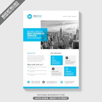 Broszura kreatywnych biznesowych makieta