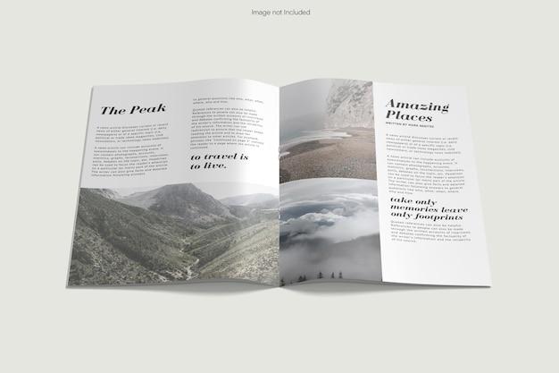 Broszura projekt makiety rendering
