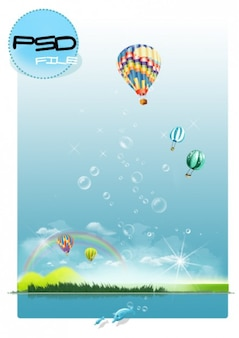 Bubble wyspa