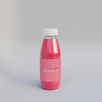 Butelka soku realistyczna makieta