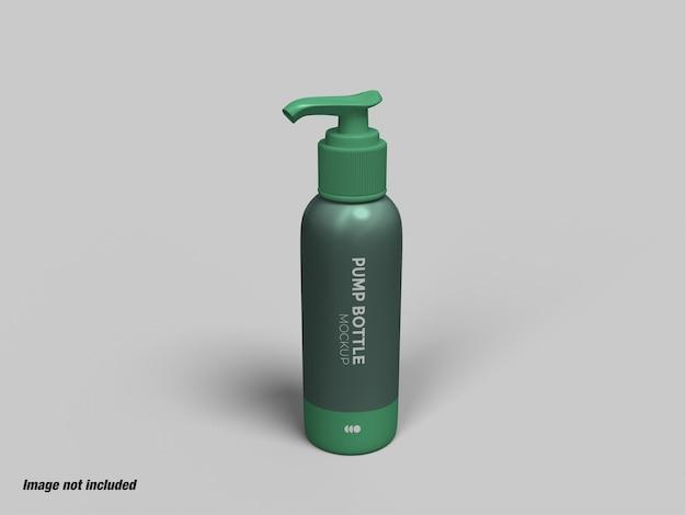 Butelka z pompką do mydła w płynie lub makiety środka dezynfekującego