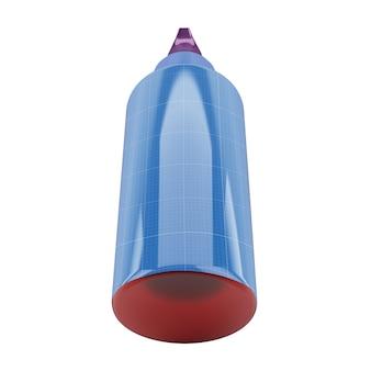 Butelka z pompką v2