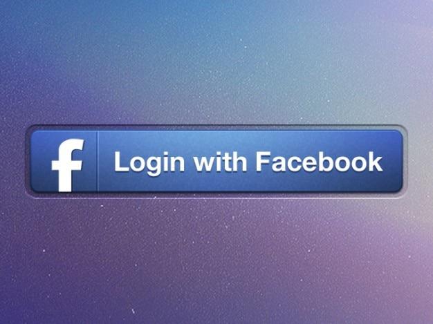 Button facebook ipad ios