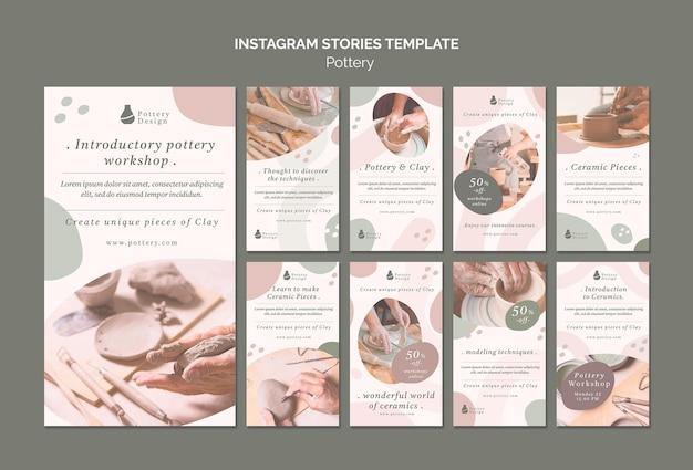 Ceramiczne historie na instagramie