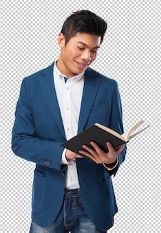 Chińczyk z książką