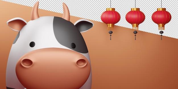 Chiński nowy rok, rok wołu.