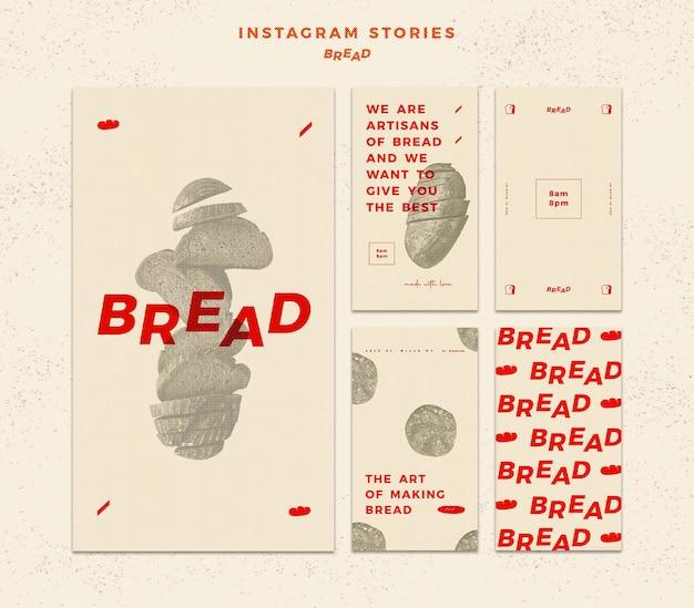 Chlebowe historie na instagramie