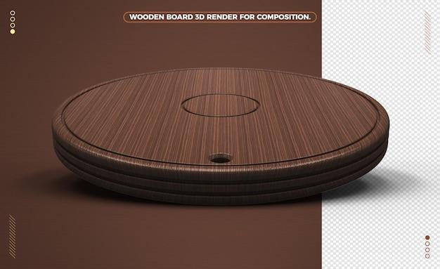Ciemna Realistyczna Deska Drewniana Do Kompozycji Premium Psd