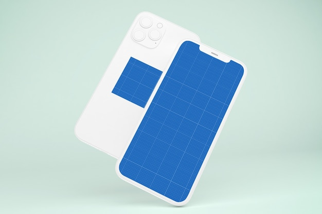Clay phone 12 makieta