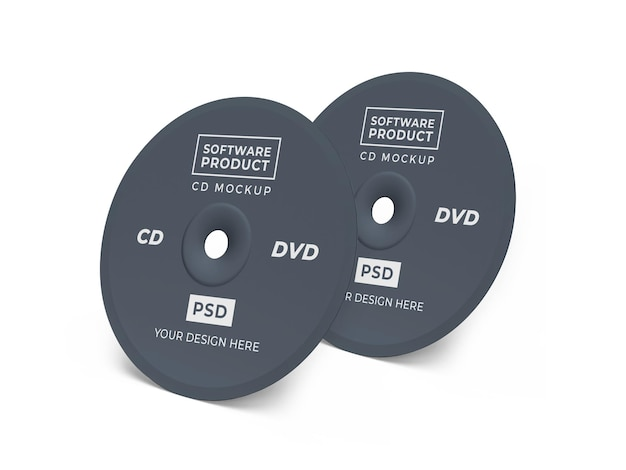 Compact disc cd 3d makieta