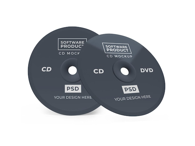 Compact disc cd 3d makieta