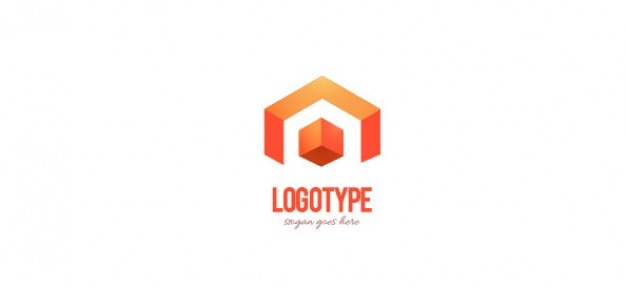 Corporate design template logo