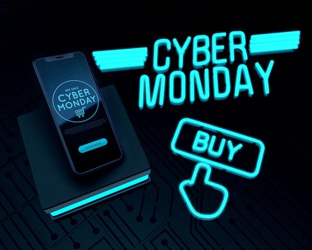 Cyber poniedziałek kup teraz najlepsze telefony