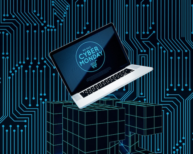 Cyber poniedziałek oferta zakupu laptopa