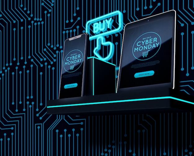 Cybernetyczna oferta na poniedziałek na tablety i telefony
