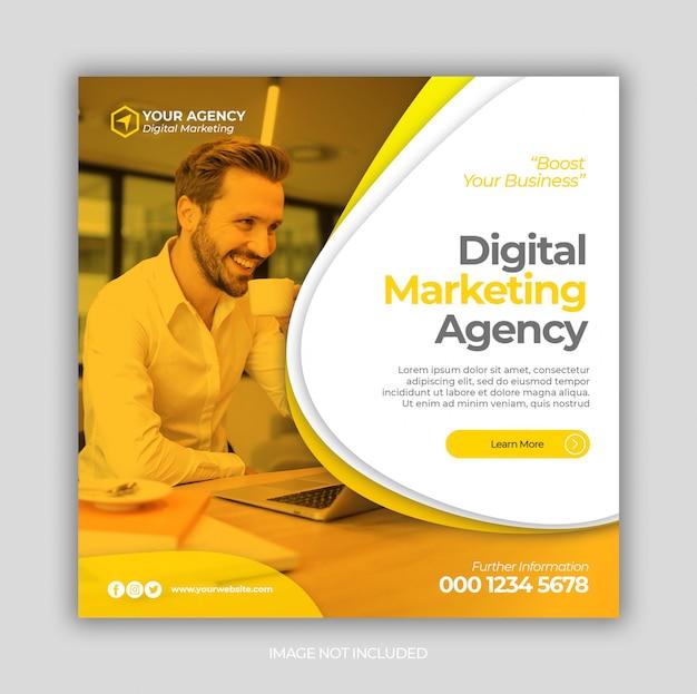 Cyfrowy post marketingu biznesowego