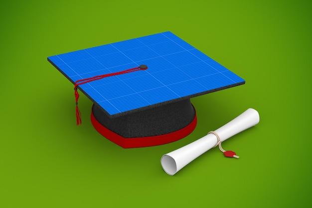Czapka ukończenia szkoły