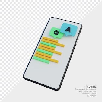 Często zadawane pytania ze smartfonem i q oraz tekstem i dymkiem