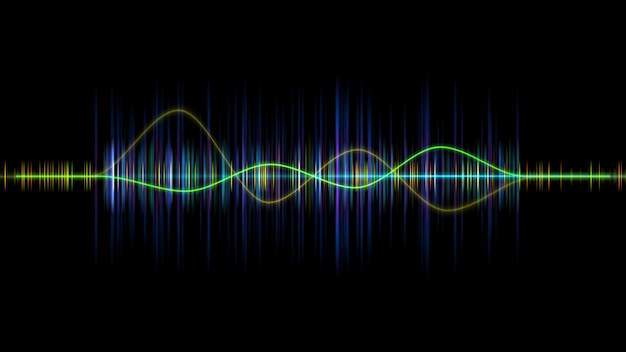 Częstotliwość fali dźwiękowej korektora dźwięku,