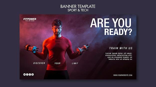 Czy jesteś gotowy szablon banner?