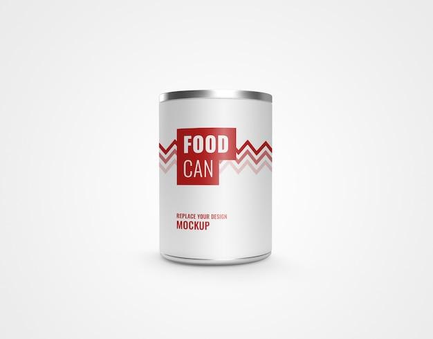 Czy metal jedzenie realistyczny makieta renderowania 3d