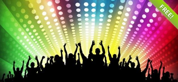 Darmowe tła disco party