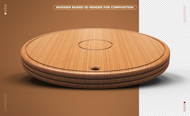 Deska z jasnego drewna do kompozycji