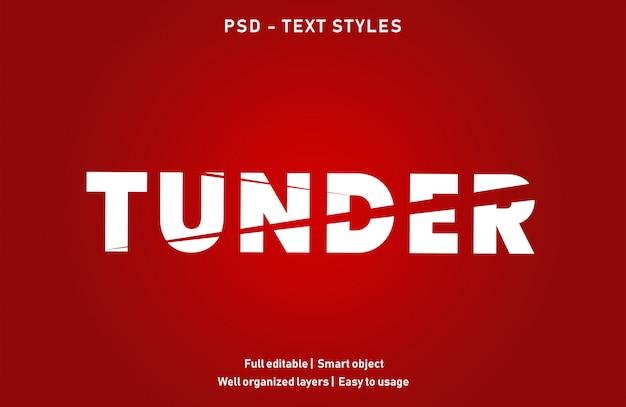 Dostosuj styl efektu tekstu