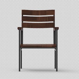 Drewniane krzesło ogrodowe