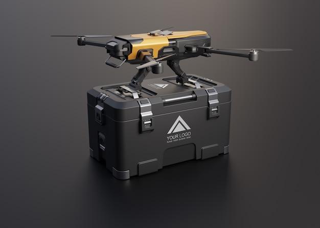 Dron do usługi dostawy