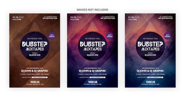 Dubstep mixtape party banner