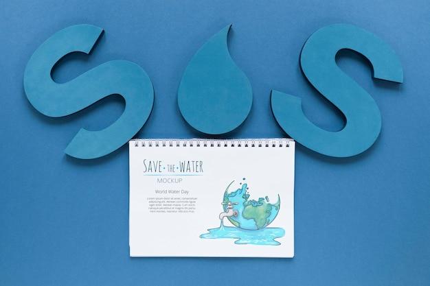 Dzień oceanu sos ocalić wody