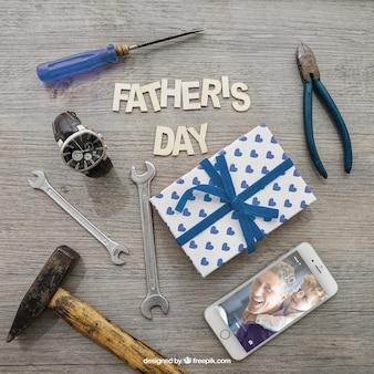 Dzień ojca i narzędzia