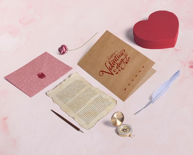 Edytowalne makieta elementów izometrycznym valentine