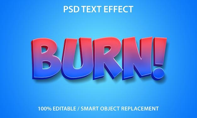 Edytowalne nagrywanie efektu tekstu